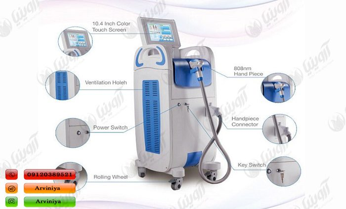 فروش انواع دستگاه لیزر دایود چینی