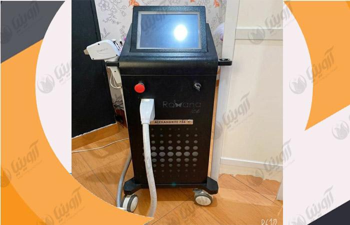 فروش دستگاه لیزر دایود رکسانا آیس